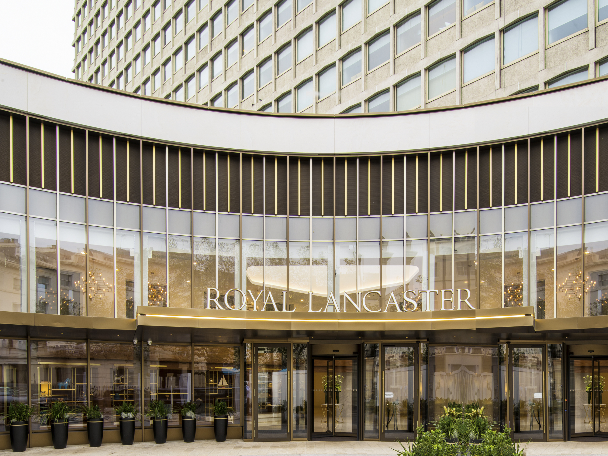 Entrance Doors at the Royal Lancaster London Hotel