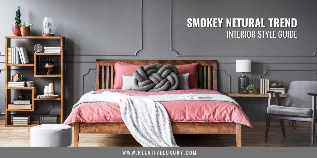 Smokey Neutral Interior Design Trend Blog Banner