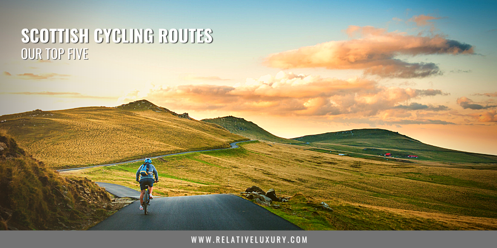 Top 5 Best Scottish Cycling Routes Blog Banner