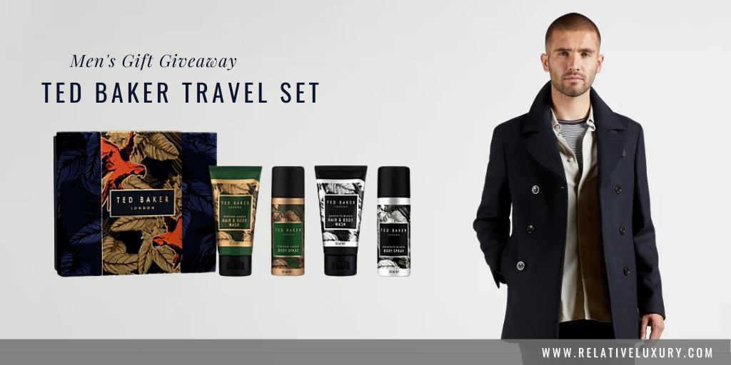 Ted Baker Men's Travel Gift Set Giveaway at Relative Luxury